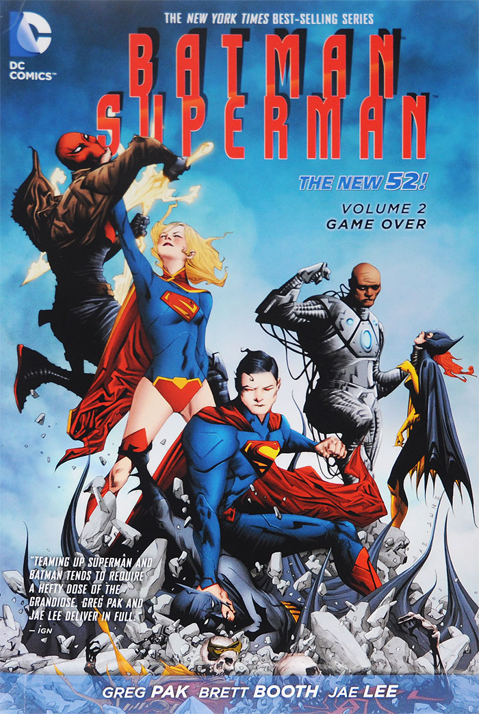 Batman / Superman: Volume 2: Game Over greg pak batman superman volume 1 cross world