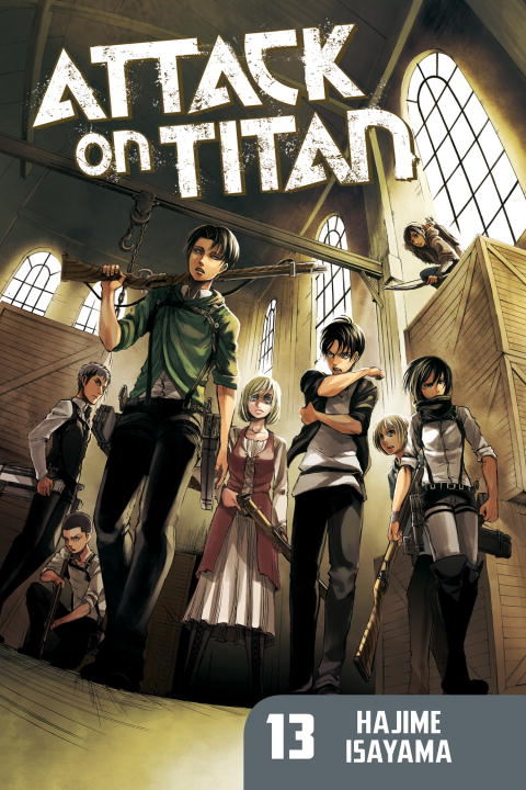 Attack on Titan: Volume 13 attack on titan volume 15