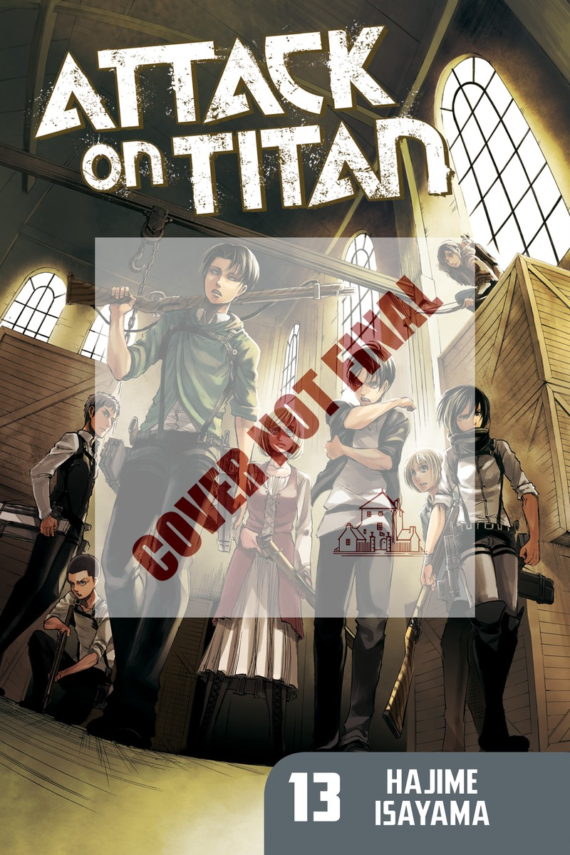 ATTACK ON TITAN 14 attack on titan end of the world