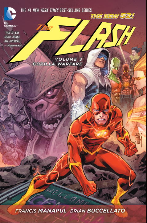 The Flash: Volume 3: Gorilla Warfare maisy goes to the city