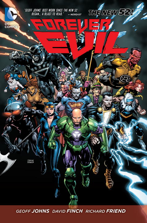 Forever Evil geoff johns green lantern vol 1 sinestro the new 52