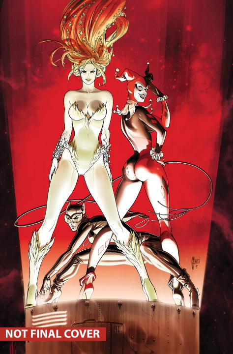 GOTHAM CITY SIRENS BOOK ONE the sirens of titan