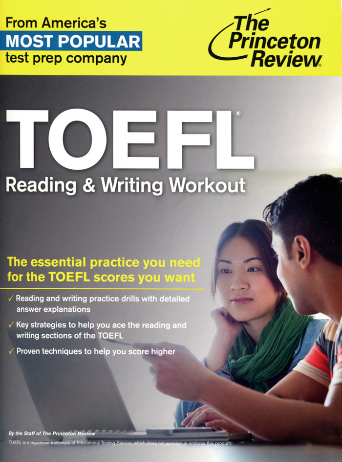 TOEFL: Reading & Writing Workout cascatto 3