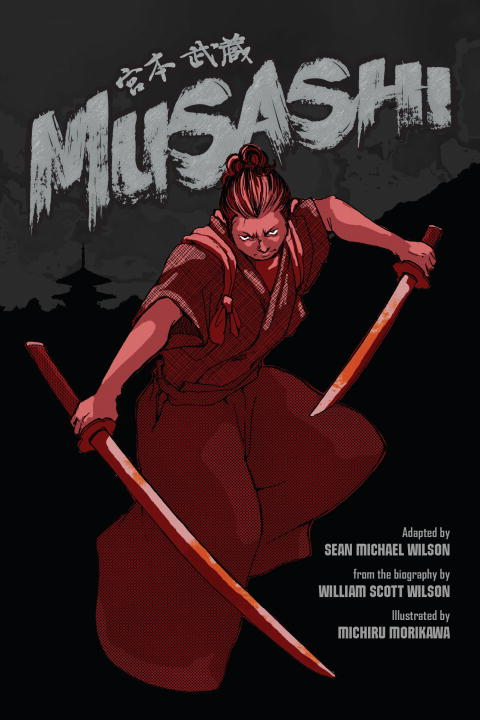 MUSASHI (GRAPHIC NOVEL) cd iron maiden a matter of life and death