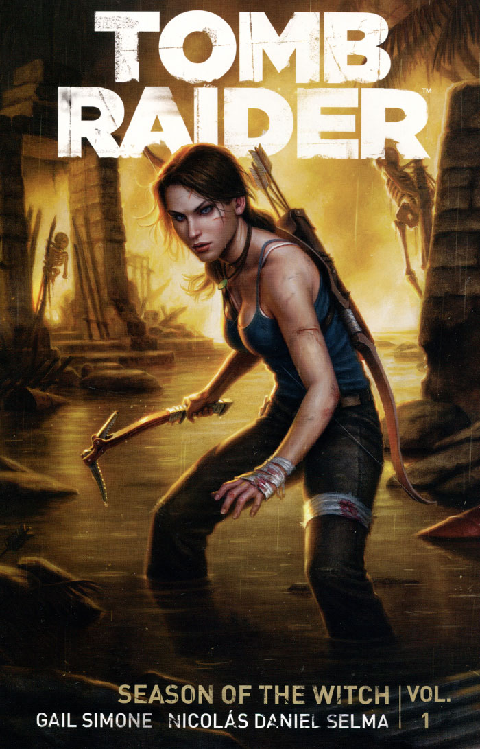 Tomb Raider: Volume 1: Season of the Witch видеоигра для ps4 rise of the tomb raider