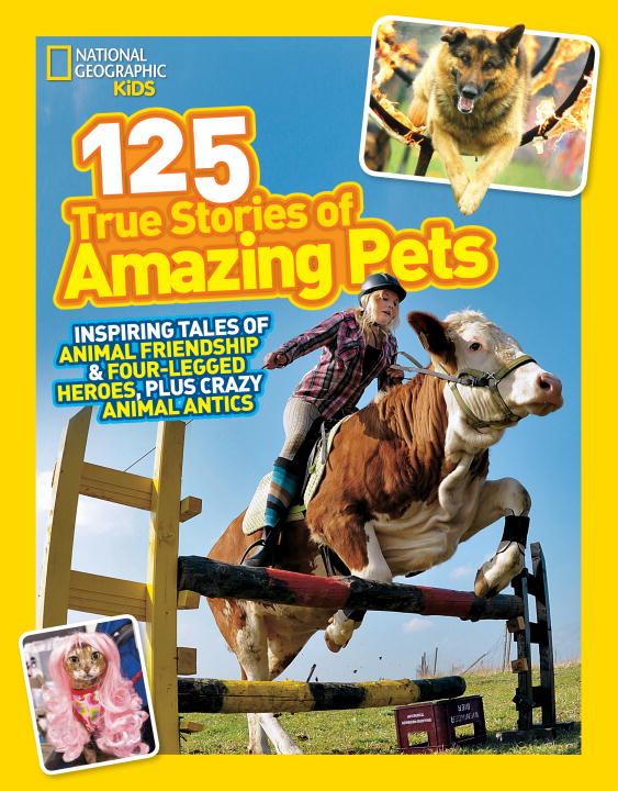 125 True Stories of Amazing Pets dk readers horse heroes true stories of amazing horses
