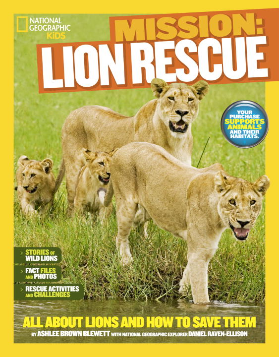 ANIMAL RESCUE: LIONS lions and shadows