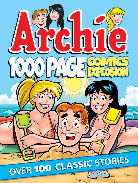 Archie 1000 Page Comics Explosion юбка the page the one 823479 page one