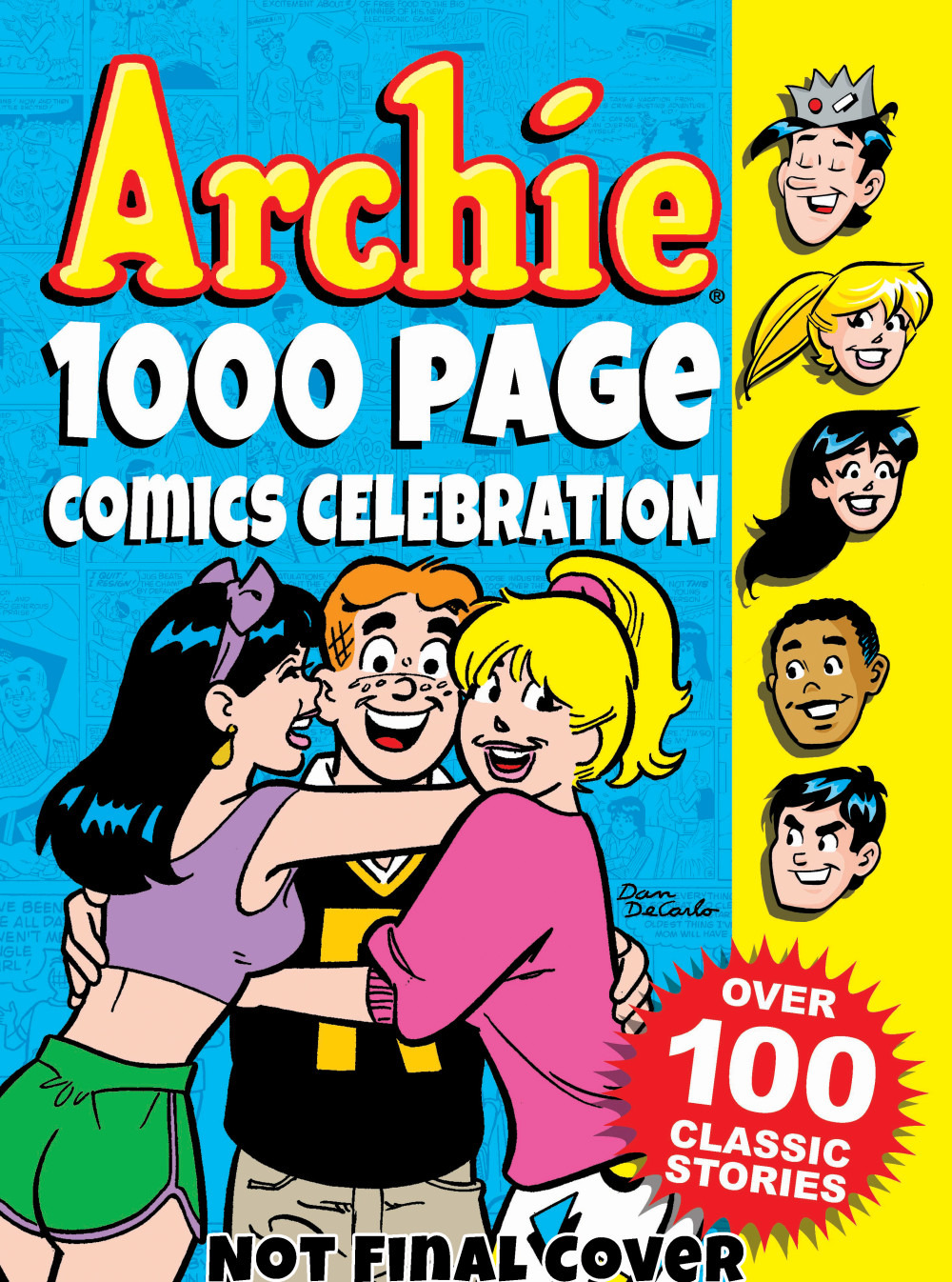 ARCHIE 1000 PG CMC CELEBRATION awkward