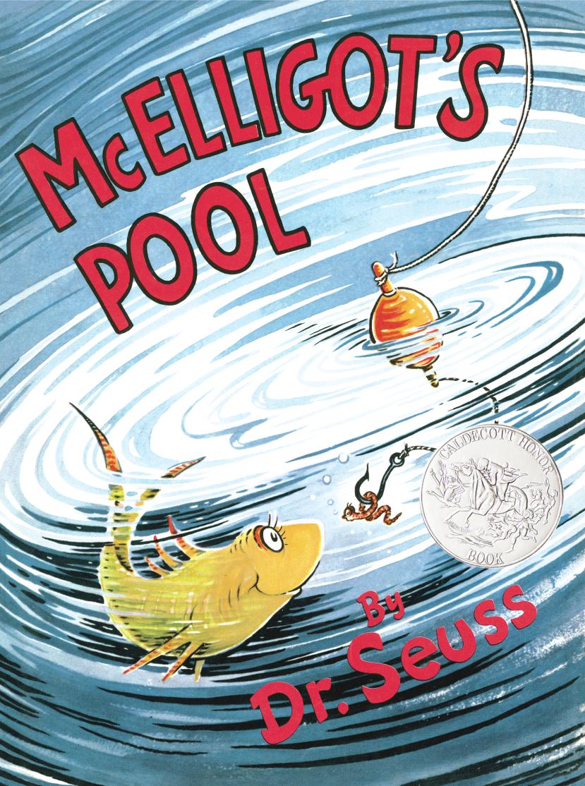 MCELLIGOT'S POOL (JKT ED) dr seuss bilingual classical picture book full set of 15 volumes of 7 10 year old simplified chinese and english paperback