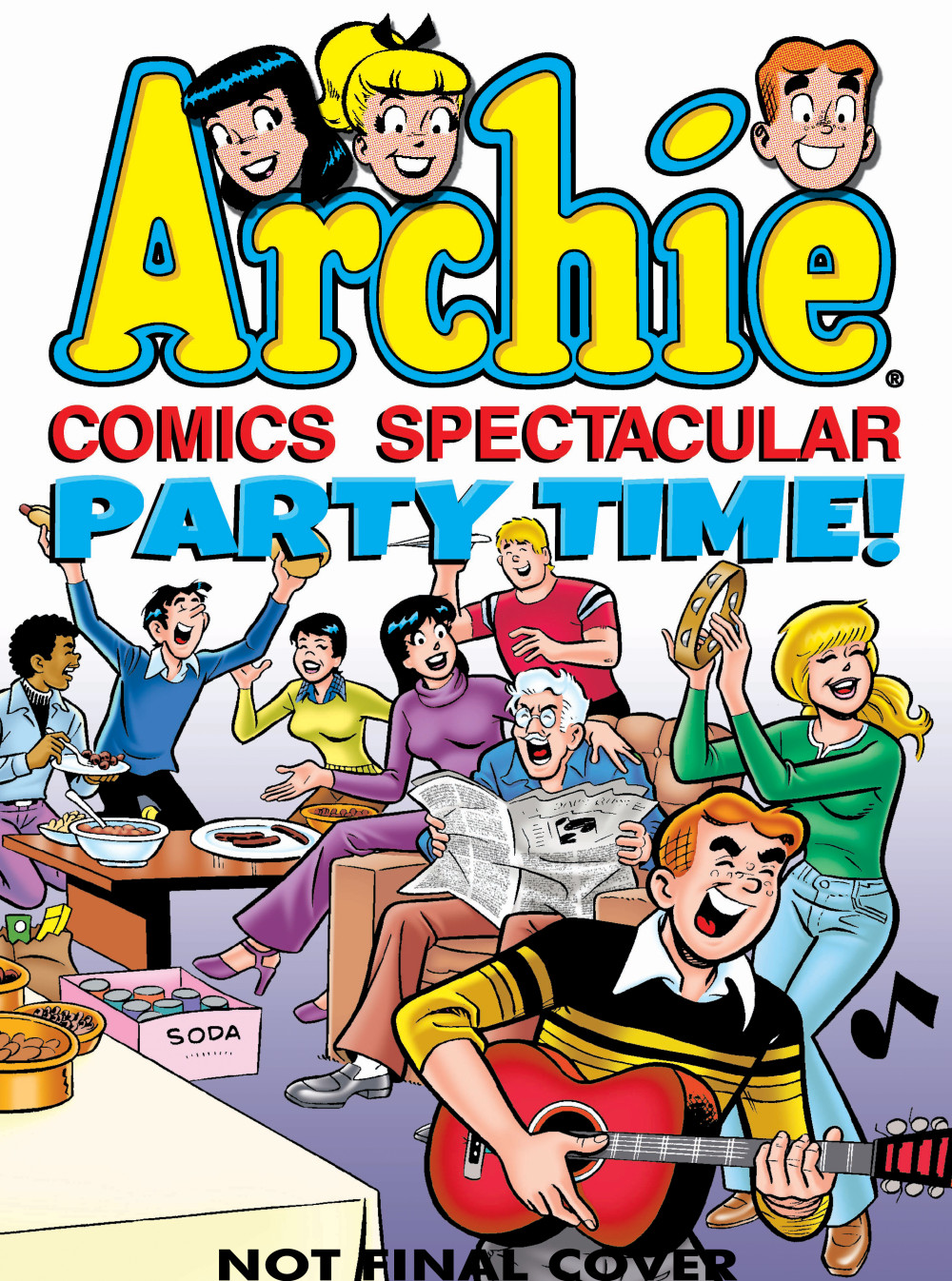 ARCHIE COMICS: PARTY TIME! archie giant comics 75th anniversary book