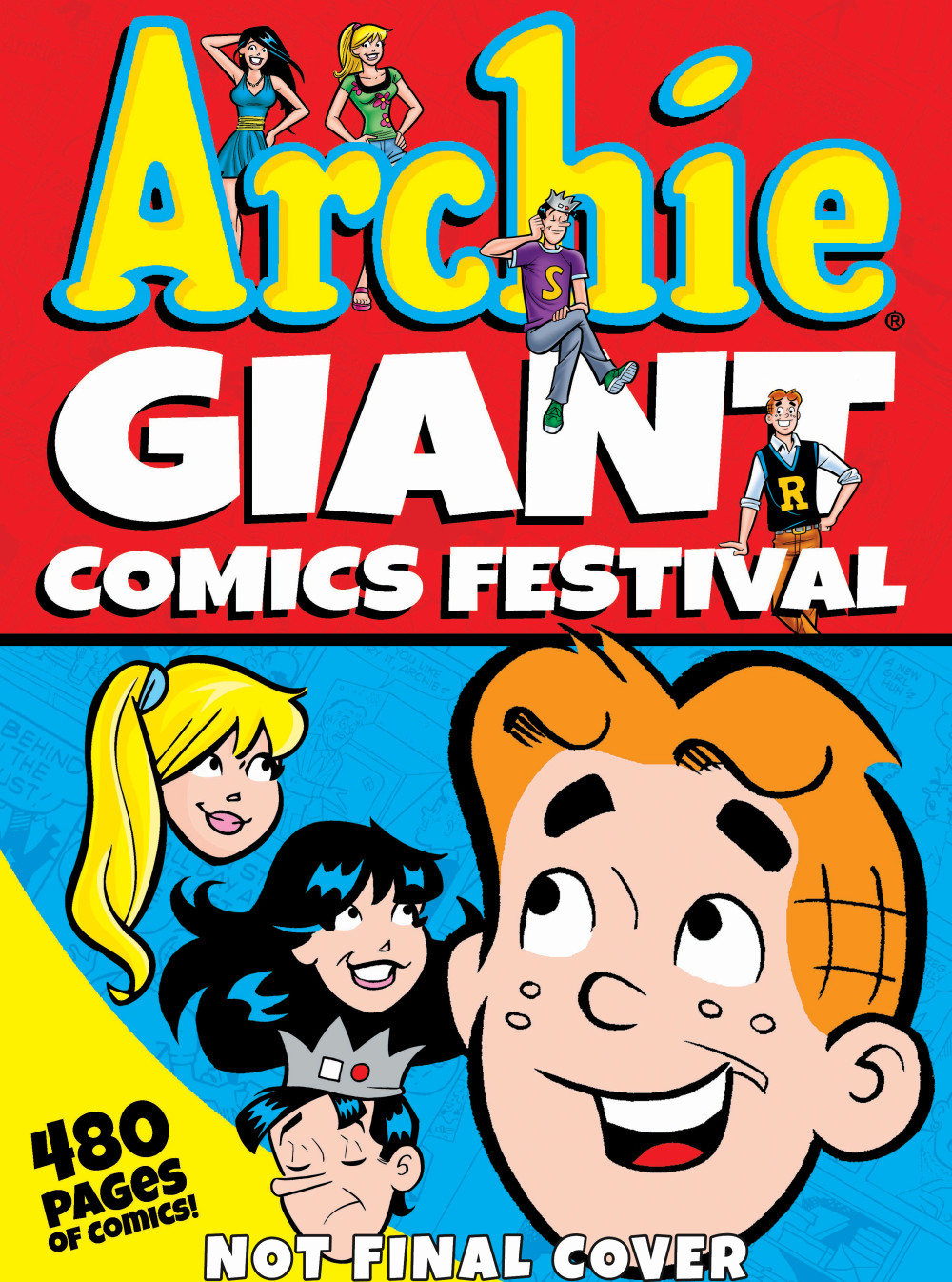 ARCHIE GIANT COMICS FESTIVAL archie giant comics 75th anniversary book