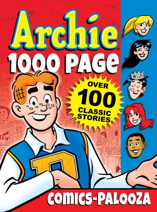Archie 1000 Page: Comics-Palooza archie giant comics 75th anniversary book