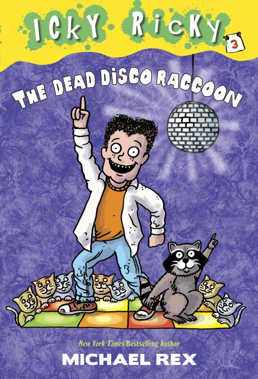 DEAD DISCO RACCOON, THE (IR#3) notes from a dead house