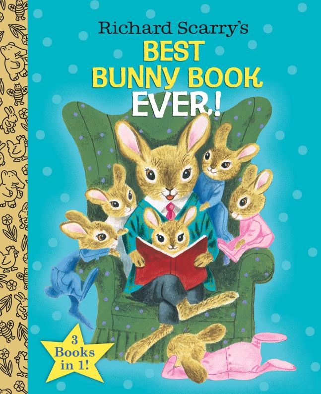 Best Bunny Book Ever! richard scarry s please and thank you book
