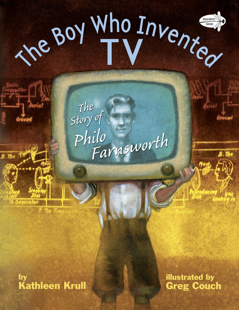BOY WHO INVENTED TV, THE the salmon who dared to leap higher