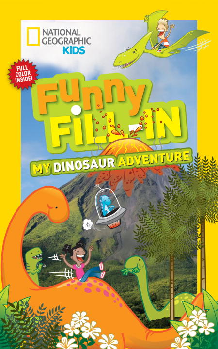 FUNNY FILL-IN: DINOSAUR laugh out loud holiday jokes for kids