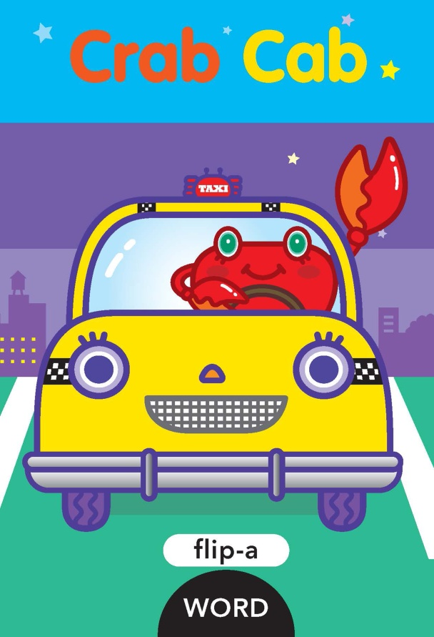 FLIP-A-WORD: CRAB CAB flip a word stop pop
