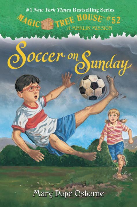 SOCCER ON SUNDAY (MTH#52) magic tree house fact tracker 29 soccer