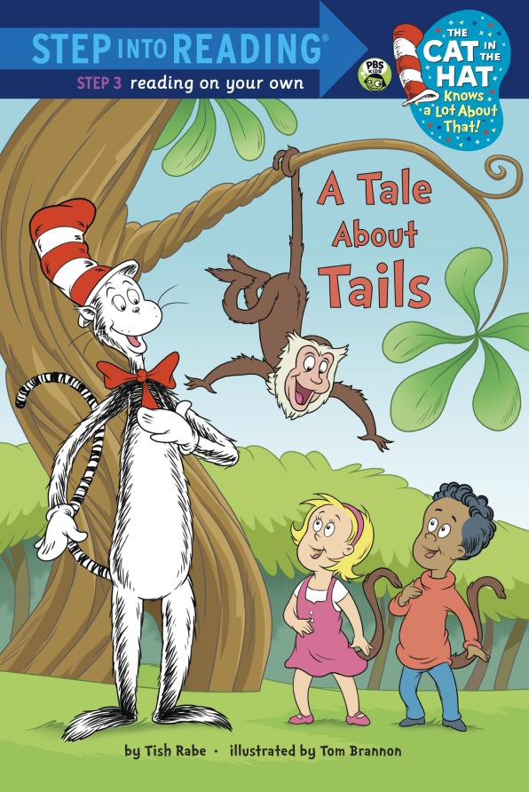 A Tale About Tails a cat a hat and a piece of string