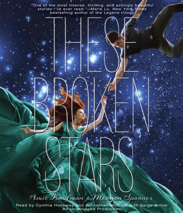 THESE BROKEN STARS (UAB)(CD) kaufman amie these broken stars uab cd