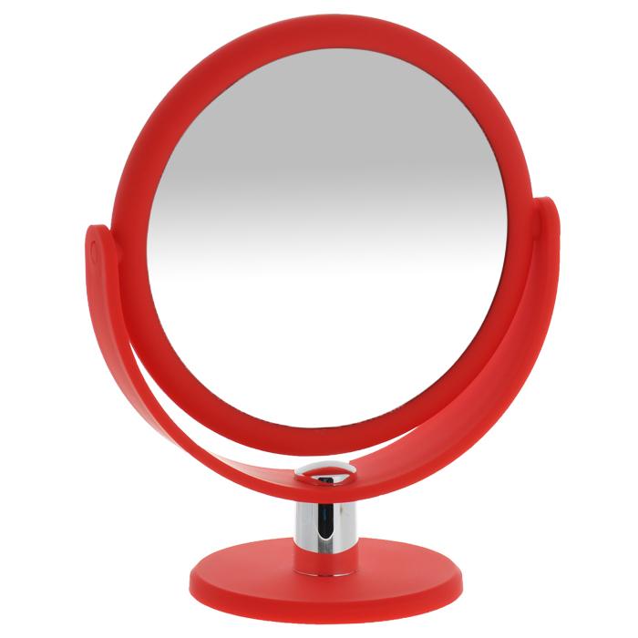 Gezatone Косметическое зеркало с 10ти-кратным увеличением LM4941301207Работа над собой, проведение косметических процедур, нанесение макияжа требует наличия зеркала. И оно должно удовлетворять самым взыскательным потребностям. Зеркало LM494 Gezatone является образцом высокого стиля, отличного качества и максимальной функциональности. Двухстороннее зеркало с регулируемым углом наклона позволит вам установить его так, как это удобно вам, а десятикратное увеличение одной из зеркальных линз поможет разглядеть даже малейшие нюансы и устранить все недостатки кожи. Яркий и стильный дизайн делает зеркало отличным подарком родным и близким, оно будет прекрасно смотреть я в любом интерьере, делаю процедуры ухода за собой максимально комфортными.Увеличение: 10x.Диаметр (без учета рамки): 14,5 см.