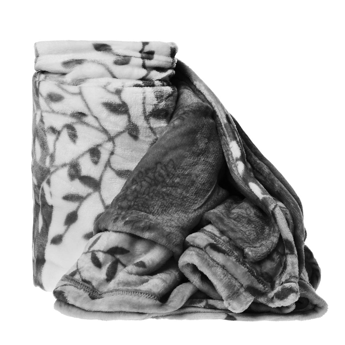 Плед Cleanst, цвет: белый, серый, 200 см х 230 смXthk-GreyПлед Cleanst, выполненный из флиса, послужит теплым, мягким и практичным подарком близким людям. Такой плед легок и не займет много места, что немаловажно в дороге. Благодаря использованию высокотехнологичных материалов этот плед обладает высокой степенью мягкости (бархатный на ощупь) иизносоустойчивостью.