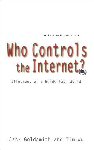 Who Controls the Internet?: Illusions of a Borderless World art in the age of the internet 1989 to today