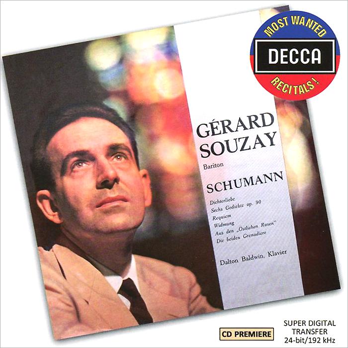 Gerard Souzay, Dalton Baldwin. Schumann. Dichterliebe Op.48