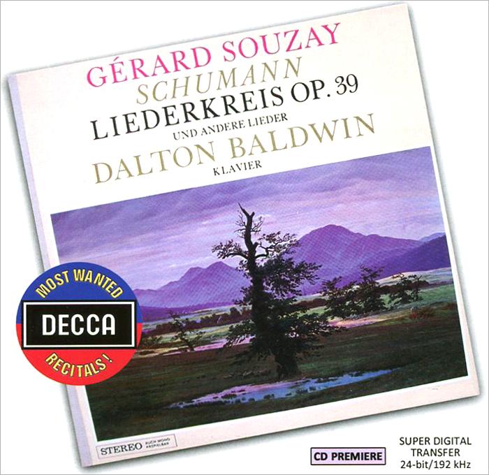 Gerard Souzay, Dalton Baldwin. Schumann. Liederkreis Op.39 Und Andere Lieder