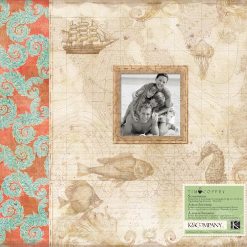 Альбом для скрапбукинга K&Company Путешествие, 31 см х 31 смKCO-30-658509Прекрасный альбом для скрапбукинга K&Company Путешествие содержит рамочку-окошко для личной фотографии. Он прост в исполнении, подойдет как для начинающих, так и творческих профессионалов В наборе 10 листов с пленкой для 20 бумажных листов (31 х 31 см).Скрапбукинг - это хобби, которое способно приносить массу приятных эмоций не только человеку, который этим занимается, но и его близким, друзьям, родным. Это невероятно увлекательное занятие, которое поможет вам сохранить наиболее памятные и яркие моменты вашей жизни, а также интересно оформить интерьер дома.
