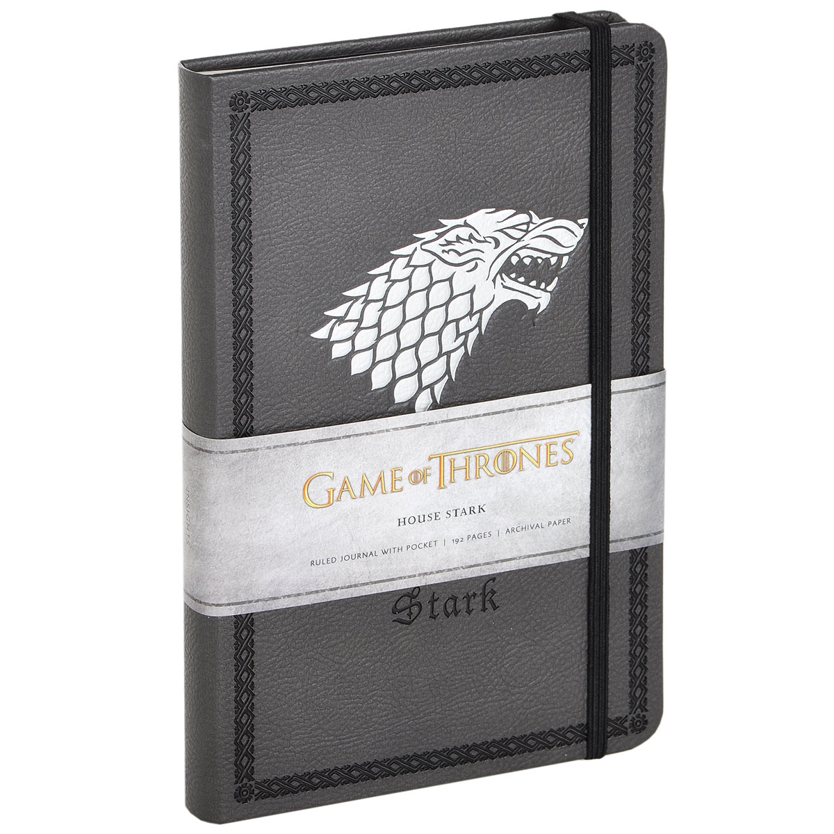 Game of Thrones: House Stark: Ruled Journal With Pocket a game for all the family