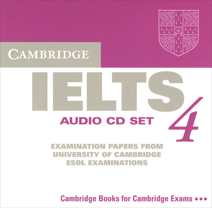 цены Cambridge IELTS 4: Examination Papers From University Of Cambridge ESOL (аудиокурс на 2 CD)