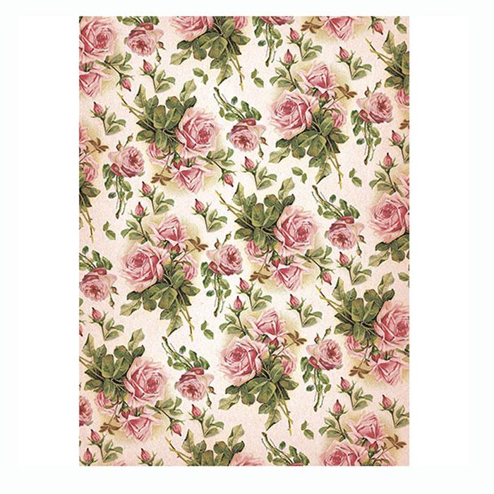 Рисовая бумага для декупажа Craft Premier Шебби розы, A3CP06327