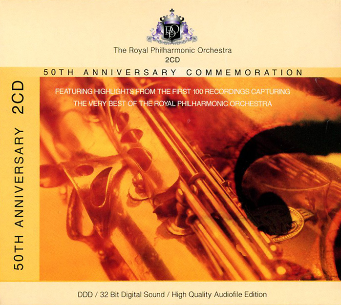 Royal Philharmonic Orchestra. 50th Anniversary Commemoration (2 CD)