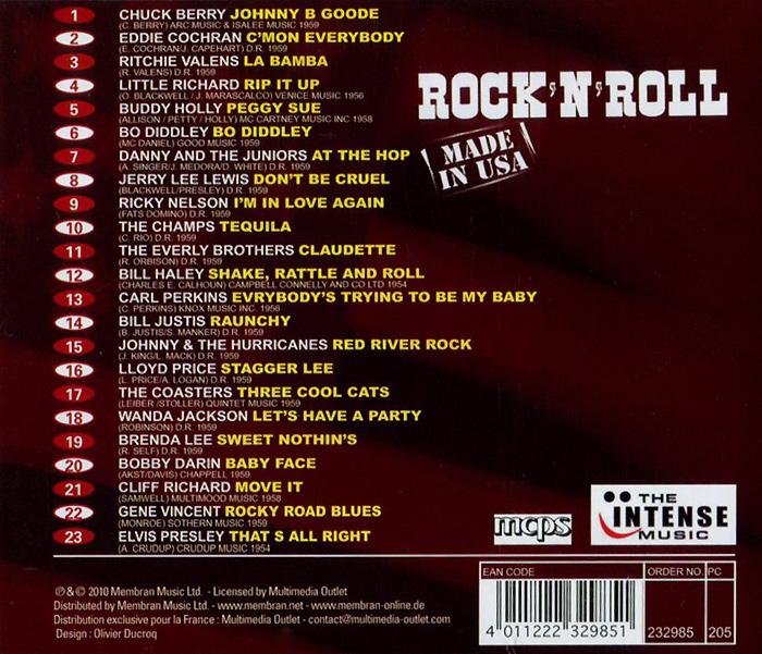 Rock'N'Roll.  Made In USA Membran Music Ltd.,Концерн