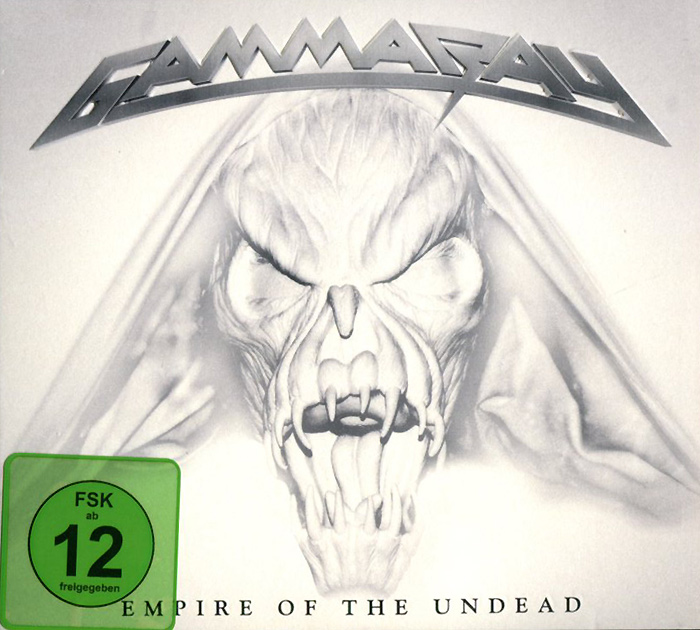 Gamma Ray Gamma Ray. Empire Of The Undead (CD + DVD) bbc sessions cd