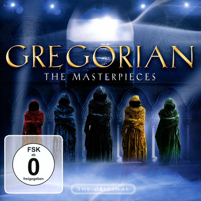 Gregorian. The Masterpieses (CD + DVD)