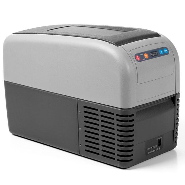 WAECO CoolFreeze CDF-16 автохолодильник 15 лCDF-16Мобильный компрессорный холодильник для охлаждения и замораживания WAECO CoolFreeze CDF-16.Легкие портативные холодильники серии WAECO CoolFreeze CDF по простоте в эксплуатации не уступают термоэлектрическим холодильникам. Они очень мобильны благодаря плечевому ремню и ручкам для переноски. Очень узкие и компактные холодильники, представляет собой превосходное «нишевое» решение. Стандартное и глубокое охлаждение до -18 °C при минимальном электропотреблении, вне зависимости от температуры окружающей среды. С высокой производительностью и надежным качеством эта модель обеспечивает стандартное охлаждение и глубокую заморозку.