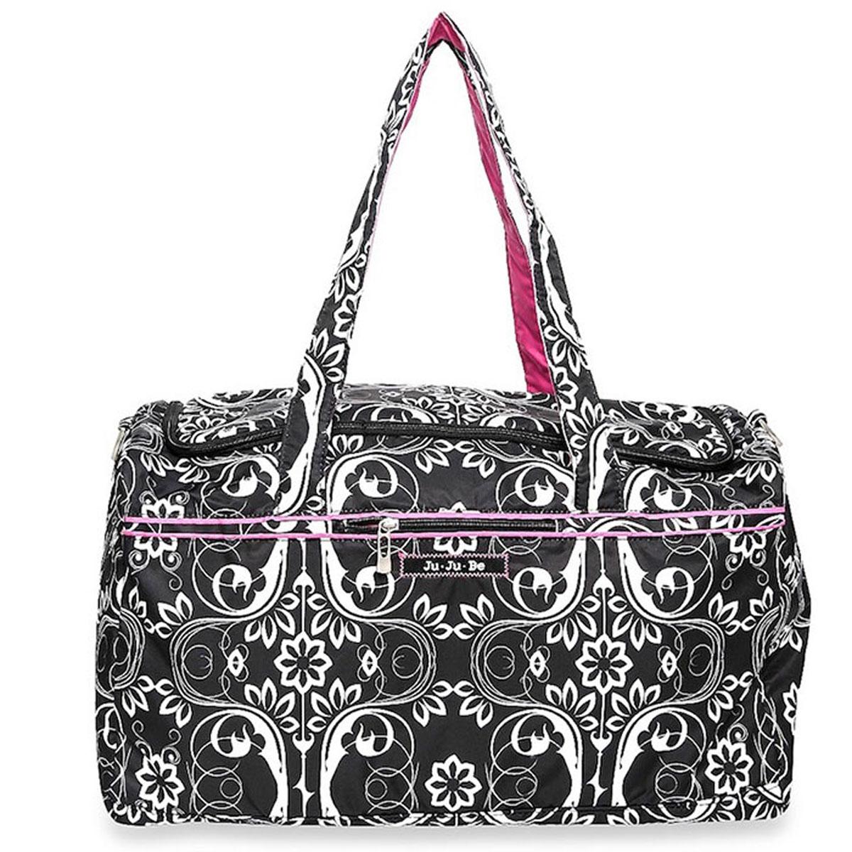 Ju-Ju-Be Сумка дорожная Starlet Shadow Waltz цвет черный белый розовый ju ju be сумка для мамы belight black out