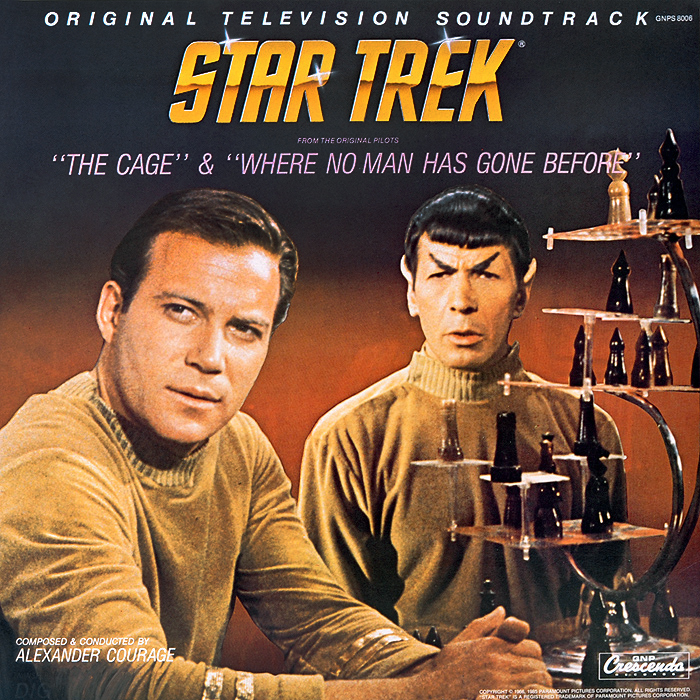Алехандер Куредж Star Trek. The Cage / Where No Man Gone Before. Original Television Soundtrack (LP) where have all the heroes gone