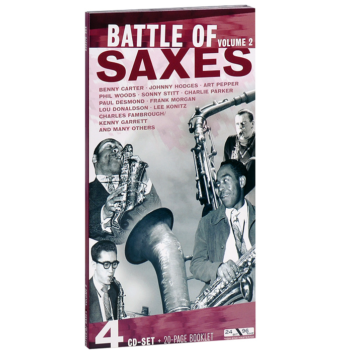Battle Of Saxes. Volume 2 (4 CD)