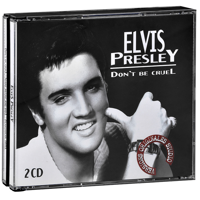 Элвис Пресли Elvis Presley. Don't Be Cruel (2 CD) cd диск presley elvis elvis sings 1 cd