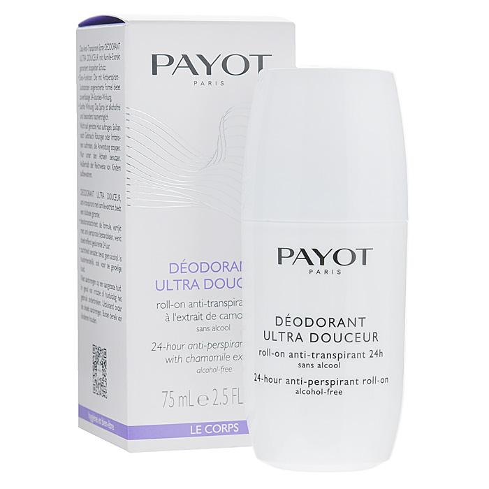 Payot Дезодорант роликовый для тела, женский, 75 мл дезодоранты payot дезодорант спрей 125мл