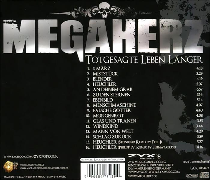 Megaherz.  Totgesagte Leben Langer ZYX Music,Концерн
