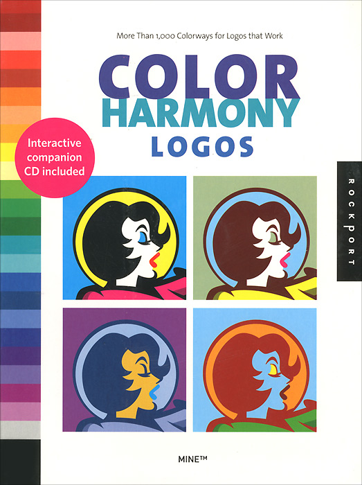 цена на Cristopher Simmons, Tim Belonax, Kate Earhart Color Harmony Logos (+ CD-ROM)