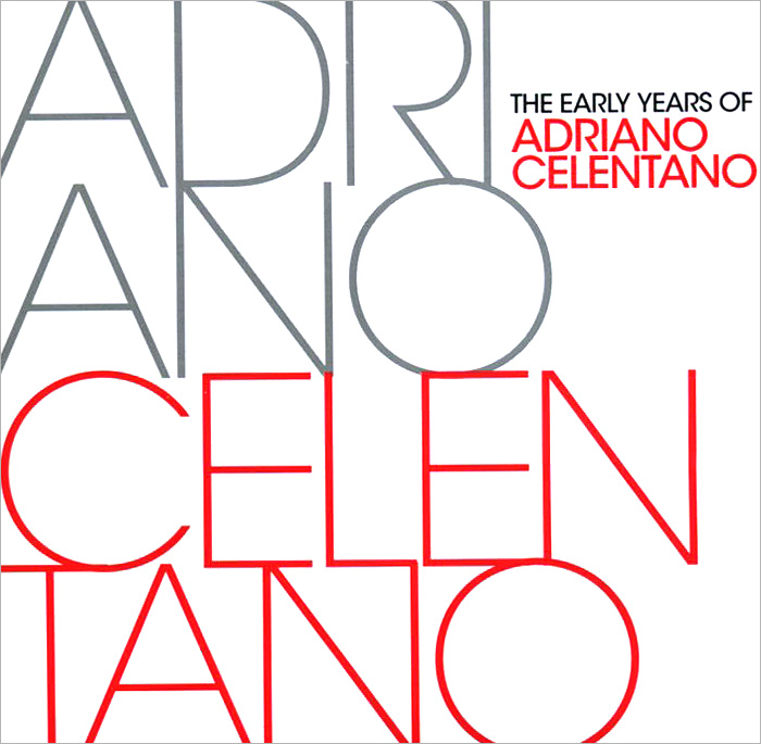 Адриано Челентано The Early Years. Best Of Adriano Celentano (2 CD) cd диск middle of the road best of 1 cd