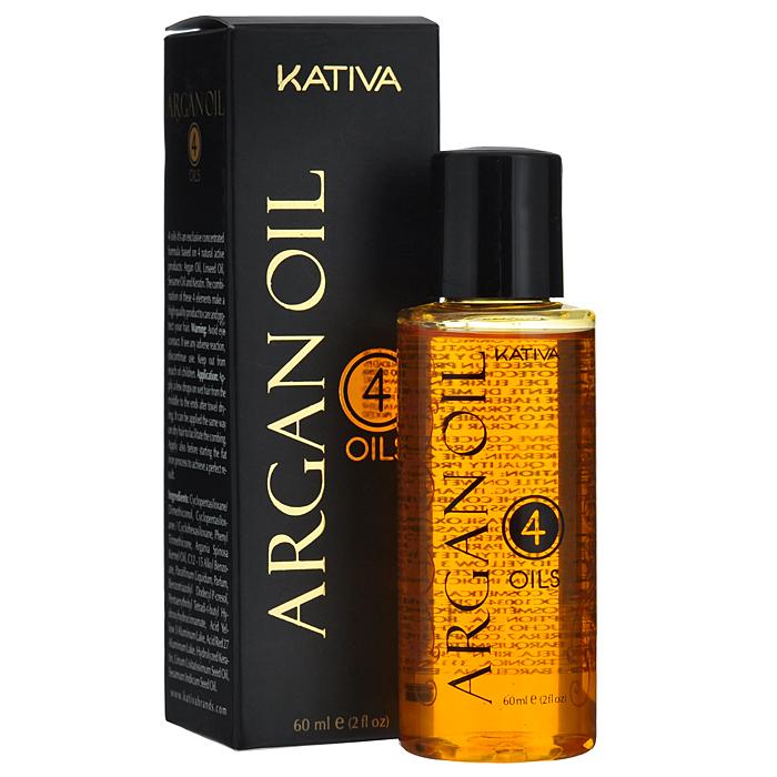 Kativa Восстанавливающий защитный концентрат для волос 4 масла ARGAN OIL маска kativa argan oil intensive repair treatment объем 35 г
