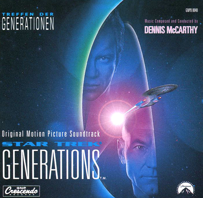 Star Trek. Generations. Original Motion Picture Soundtrack northwest sinfonia рэнди миллер the soong sisters original motion picture soundtrack