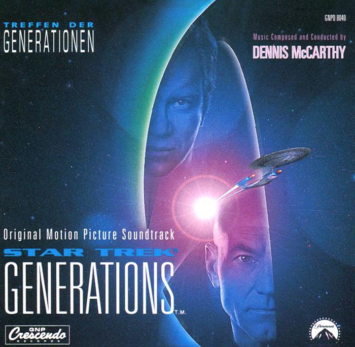 Star Trek. Generations. Original Motion Picture Soundtrack алан паскуа fatal attraction original motion picture soundtrack